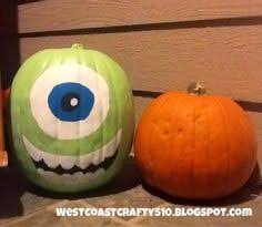 Monsters Inc Mike Wazowski Pumpkin Carving by Monsters University Mike Wazowski Pumpkin Time Lapse