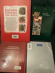 backbücher dr oetker kuchen plätzchen vom blech himmlische
