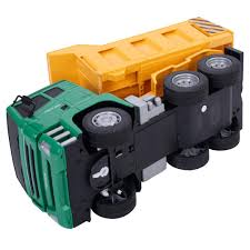 Goplus 1//18 5CH Remote Control RC Construction Dump Truck Kids ...