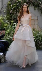 Discount High Low Grey Lace Wedding Dresses 2017 Monique Lhuillier