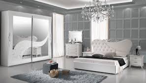 schlafzimmer gisell in weiss edel luxus schlafzimmer 160x190 cm mit lattenrost 26 leisten ohne kommode spiegel