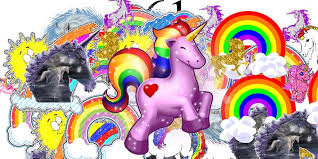 Unicorns And Rainbows Wallpaper Nitnbx65