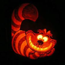 Disney Pumpkin Carving Patterns Villains by Cool Cheshire Cat Pumpkin Pumpkin Carving Ideas Pinterest