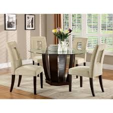 furniture upholstered dining chairs and wayfair round dining