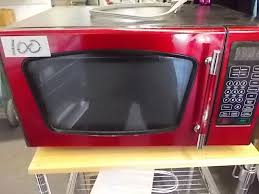 Emerson Red Microwave 93001