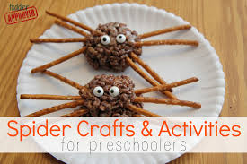 Rice Krispie Halloween Treats Spiders by 15 Spooky Spider Themed Crafts