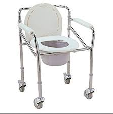 handicap toilet chair with wheels buy eks commode wheel chair at low prices in india in
