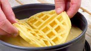 waffelkuchen mit cremiger füllung leckerschmecker