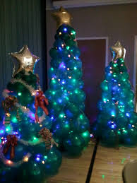 Spiral Lighted Christmas Trees Outdoor by Accessories White Fibre Optic Christmas Tree 7 5 Foot Pre Lit