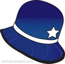 Clip Art Of An Old Fashioned Policeman Hat