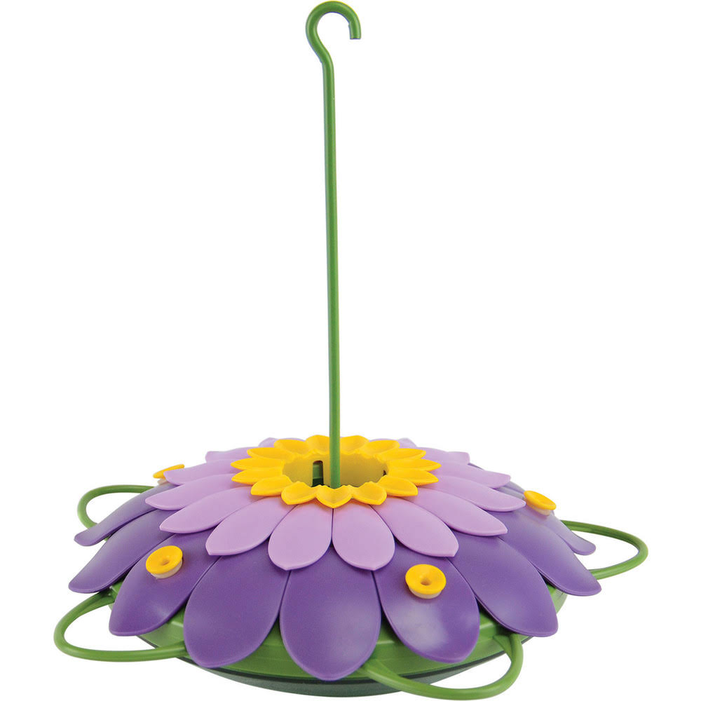 Nature's Way Bird Products So Real 3D Flower Hummingbird Feeder - Purple