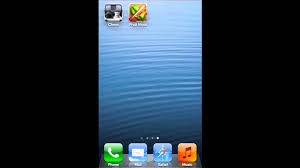 HOW TO MOVE APPS FROM ONE PAGE TO ANOTHER PAGE IN IOS 6 IPHONE 5