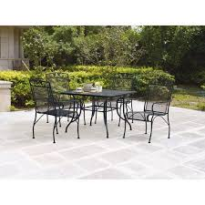 Hampton Bay Patio Furniture Covers by Patio 5 Piece Patio Dining Set Home Designs Ideas