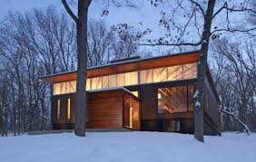 Ferrous Residence 1 Ranch Style Homes A Rustic House Wisconsin