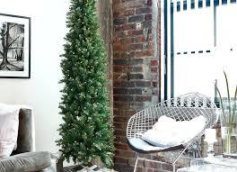 Best Artificial Tree Pencil Unlit Christmas 9 Slim Bob S Top Trees