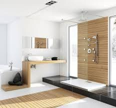 holzboden im badezimmer ambiente mit natur charakter