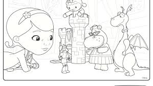 Printable Doc Mcstuffins Coloring Pages Dijlahcollege