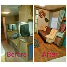 Before And After Rv Camper Interior Remodeling 8