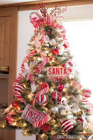 Red And White Candy Cane Christmas Tree 3