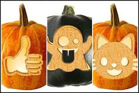Halloween Stencils For Pumpkins Free by 20 Free Emoji Pumpkin Carving Stencils Cool Mom Tech