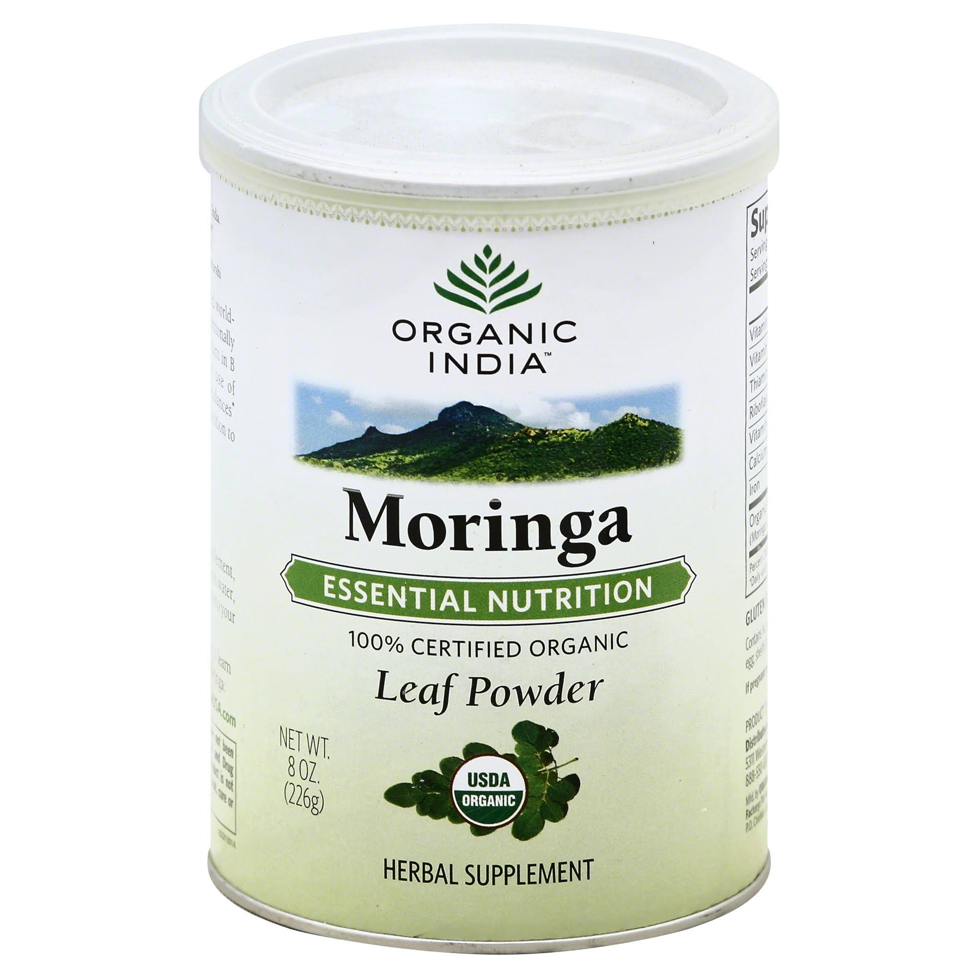 Organic India Moringa Powder - 226g