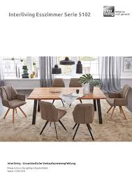 interliving esszimmer serie 5102 uvp