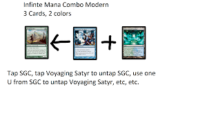 Mtg Red White Deck Modern by Modern Infinite Mana Combo 3 Cards 2 Colors Magictcg