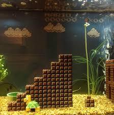 Star Wars Themed Aquarium Safe Decorations by Super Mario Bros Aquarium Diy Project Is One You U0027ll Definitely