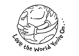 Love Earth Coloring Pages
