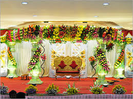Marvellous Indian Wedding Stage Decoration With Flowers 38 For Table Runners
