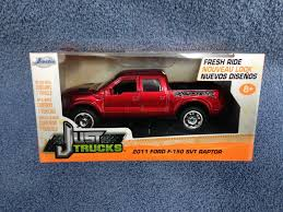 Jada Just Trucks 1:32 Scale Red 2011 Ford And 48 Similar Items