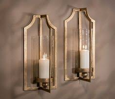 mosaic mirrored candle wall sconce house