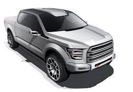 100 Ford Concept Truck Atlas Design Sketches Photo Gallery Autoblog