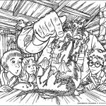 Harry Cries Out And Tells Charlie Off Potter Coloring Pages Quidditch 524577