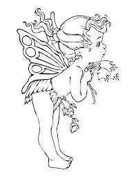 Download Coloring Pages Fairy Page Free Printable For Kids Sheets