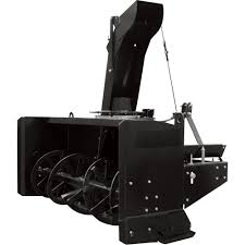 AgriEase 3-Pt. Snow Blower — 86in.W Intake, Fits Tractors 50HP To ...