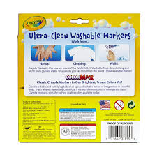 Crayola Bathtub Crayons Stained My Tub by Crayola Ultra Clean Bright Broad Line Marker 10 Count Walmart Com
