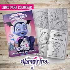 Libro Para Colorear Editado Vampirina Souvenir Imprimible