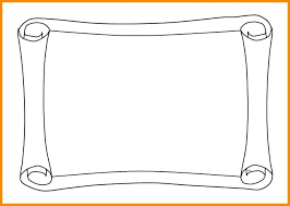 Borders Paper Designs Chart Border Design Necessary A 4 Size Good