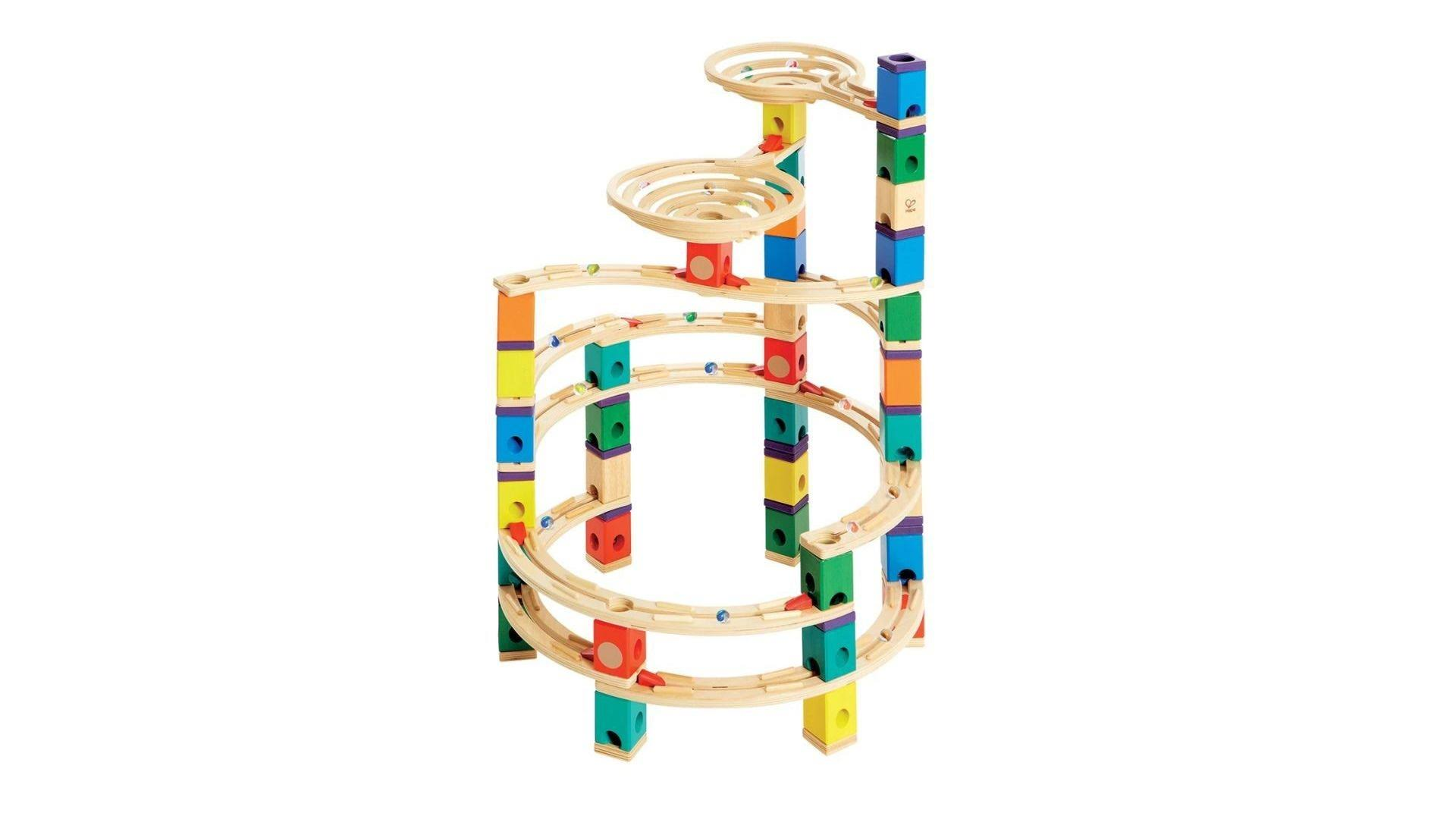 Hape Toys The Cyclone Quadrilla Marble Run