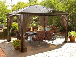 Outdoor: Outdoor Gazebo Tent | Pergola Costco | Sears Pergola Amazoncom Claroo Isabella Steel Post Gazebo 10foot By 12foot Outdoor Stylish Modern Sears For Any Yard Ylharriscom 10 X 12 Backyard Regency Patio Canopy Tent With Gazebos Sheds Garages Storage The Home Depot Perfect Solution Pergola This Hardtop Has A Umbrellas Canopies Shade Fniture Instant 103 Best Images About On Pinterest Pop Up X12 Curtains Framed