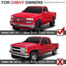 Chevy 99-02 Silverado 1500/2500/3500 Black Headlight+Bumper Parking ... Chevrolet Silverado 1999 Pictures Information Specs Lifted Truck For Sale Cheap 8995 The Crate Motor Guide 1973 To 2013 Gmcchevy Trucks 9902 Chevy Headlights 1 Piece Grille Cversion Dash 8899 Chevy Truck Misc Engine Mountssnapon 1955 Diorama Chevy Obs Trucks Old School Style Youtube Camburg Chevygmc 1500 2wd 9917 Race Series Hub Upgrade Kit Should I Trade My For 02 Tj Jeep Wrangler Forum Chevysil24 Regular Cab Specs Photos Amazoncom Tyger Auto Tgff8c4058 19992006 Revell 99 Silverado Ck Pickup Truck Model Kit Questions I Have A Silverado Z71 K
