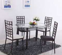 Dining Room Chairs For Glass Table by Dining Table Dining Table Suppliers And Manufacturers At Alibaba Com