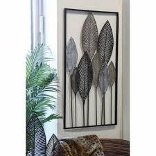 wanddeko palmblätter 950 x 530 mm dekoideen wohnzimmer