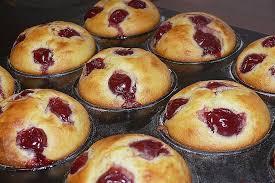quark kirsch muffins in 2020 kirschmuffins muffins