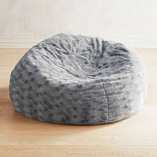 100 Furry Bean Bag Chairs For S Fuzzy Charcoal Pier 1 Imports