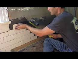 more of the right way to install subway tile in a shower ledger