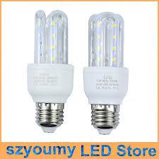 small order e27 5w led corn light bulbs u shape l energy saving