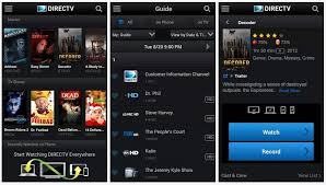 directv android app interface 1