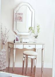 Restoration Hardware Mirrored Bath Accessories by Vanity Table For Girls Modern Mirrored Makeup Home Design Ideas